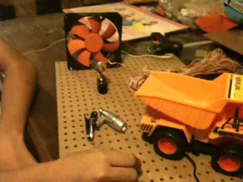 generador eólico y dinamo
