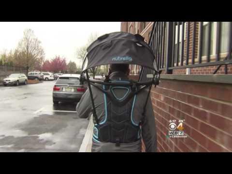 Nubrella on WBZ News This Morning