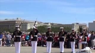 JSDTC 2014 United States Marine Corps Silent Drill