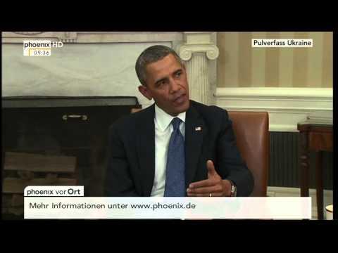 Pulverfass Ukraine - Statement von Barack Obama am 03.03.2014