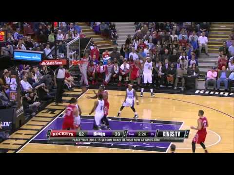 Houston Rockets vs Sacramento Kings | February 25, 2014 | NBA 2013-14 Season