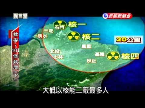 2013.04.06【民視異言堂】核安‧101個疑問(下)