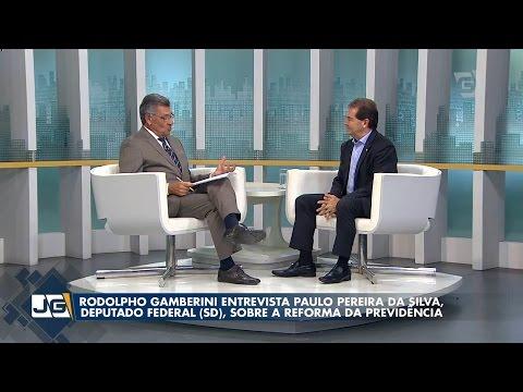 Paulinho da Força é entrevistado no Jornal da Gazeta