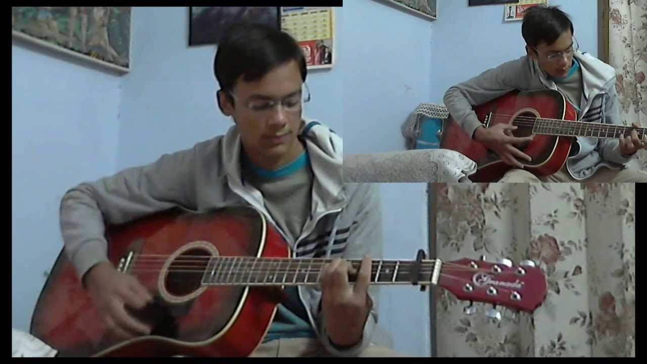 Kabhi Jo Badal Barse:Acoustic Guitar Cover:With Chords - YouTube