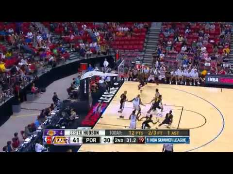 Los Angeles Lakers vs Portland Trailblazers Summer League Recap