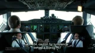 Aterrizando a bordo del A 380 de Lufthansa