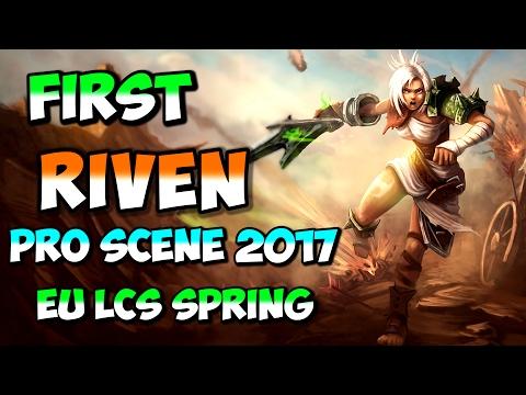 First Riven pick on pro scene in 2017 EU LCS Spring G2 v GIA