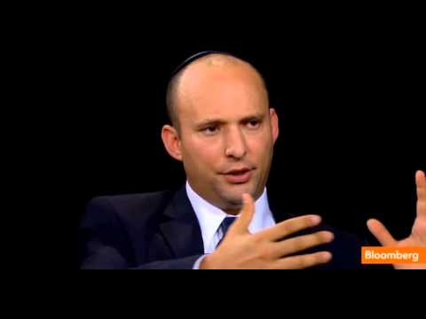 Minister Naftali Bennett on the Charlie Rose Show - part 2