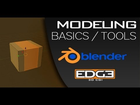 Blender for Beginners: Modeling Basic tools and tips by ZoyncTV