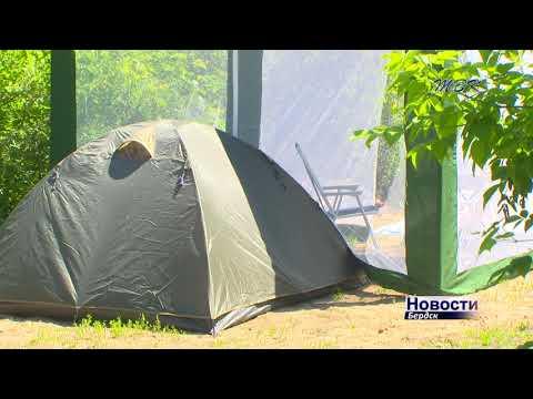 В Бердске обокрали квартиру, гараж, дачный дом и палатки на берегу