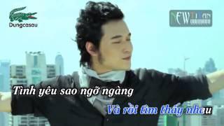 karaoke Tình yêu tìm thấy - Quang Vinh full beat