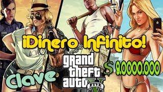Clave GTA V Dinero Infinito (XBOX 360 Y PS3) 2013