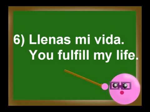 Dating phrases in spanish