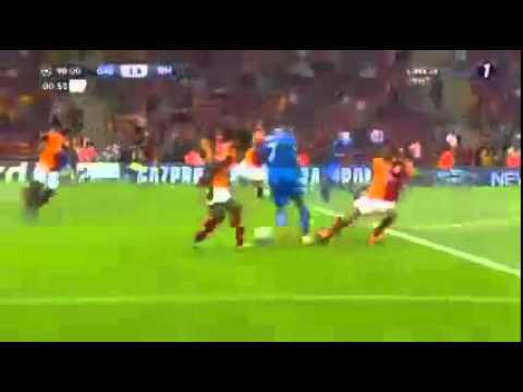 Record Goals!!! Best Skills Hatrick by Cristiano Ronaldo !!!Galatasaray vs Real Madrid 17 9 2013   Y