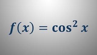Odvod trigonometrične funkcije 4