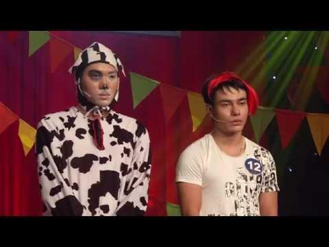 Cười Xuyên Việt - Chung kết 2 (1/5/2015): Nguyễn Huỳnh Nhu & Lê Dương Bảo Lâm