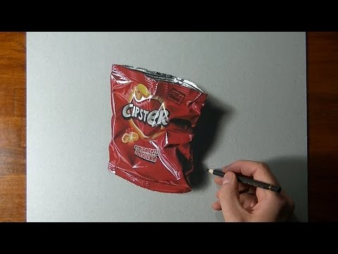 Watch A Photo-realistic Drawing Come To Life