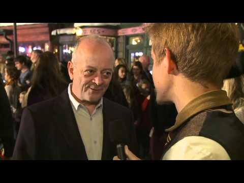 David Barron on the Red Carpet at Warner Bros. Home Entertainment Celebration
