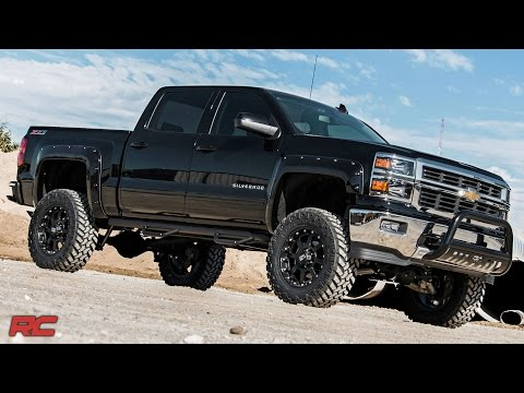 2014-2017 GM 1500 Pickup 7-inch Suspension Lift by Rough Country