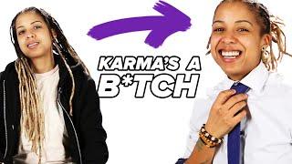 "We Tried The ""Karma's A B*tch"" Challenge"