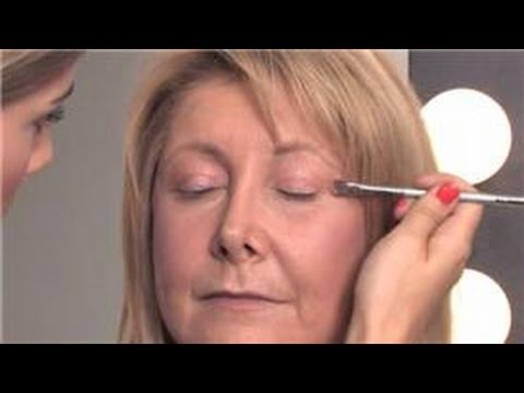 makeup tips for older women  how to apply eye makeup over