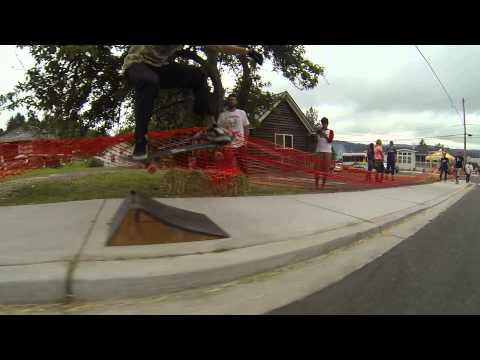 Cathlamet Downhill Corral 2013 - Sidewalk Showdown