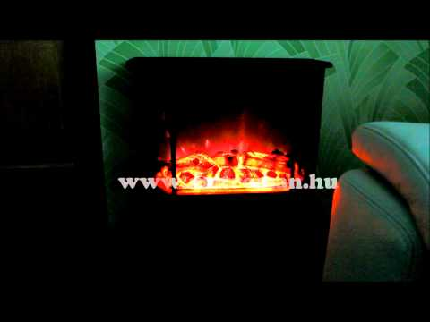 FKK 02 elektromos panoráma kandalló HD videó