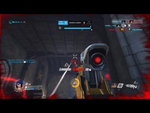 Overwatch: widow jumpshot tracer