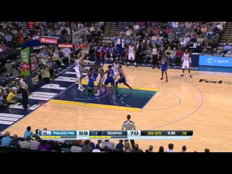 Philadelphia 76ers vs Memphis Grizzlies | April 11, 2014 | NBA 2013-14 Season