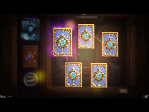 Hearthstone Pack Opening | Legendary Card |