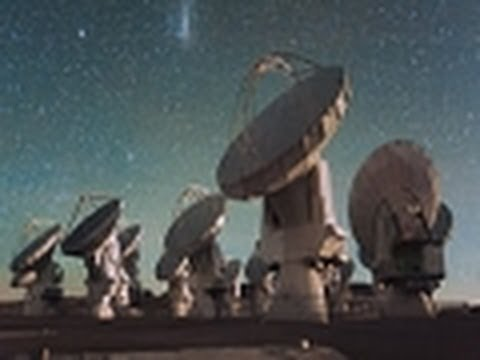 Star Space Observatory Telescopes: Ultra Modern Observatory Telescopes - Star Space - ESO 10
