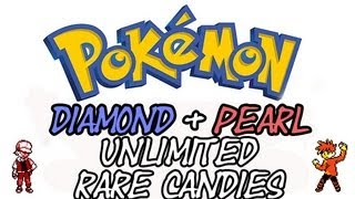 Pokemon Diamond And Pearl Rare Candy Cheat (Action