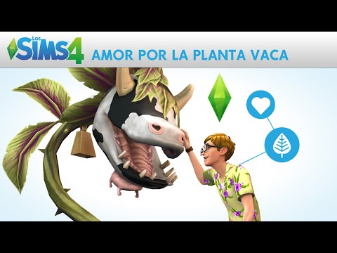 Los Sims 4: Amor por la Planta Vaca - Trailer Oficial Historias Divertidas
