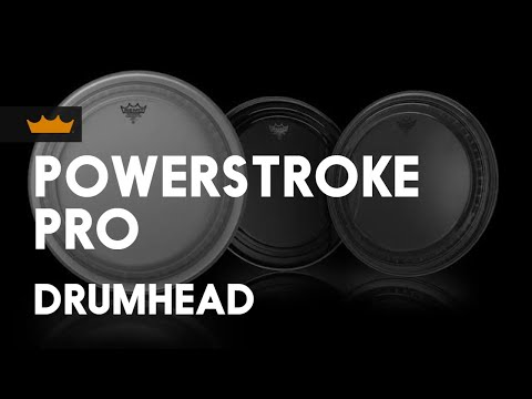 Remo Powerstroke Pro Clear Drum Heads