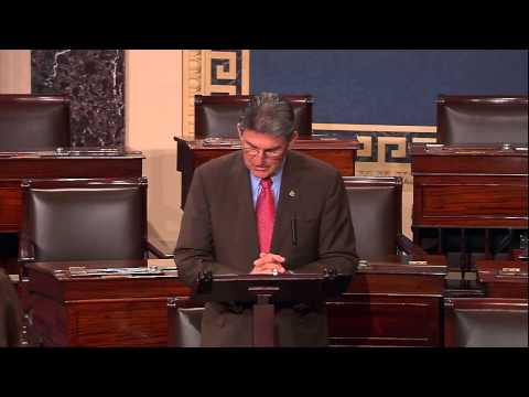 Manchin Speaks in Support of Sylvia Mathews Burwell on the Senate Floor