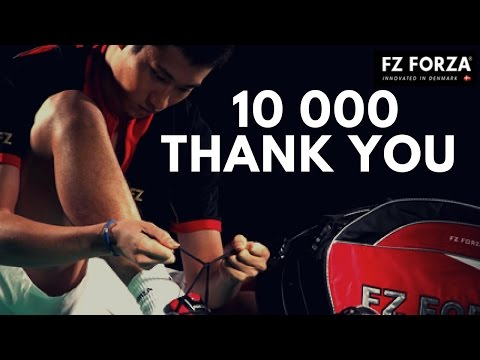 10 000 Subscribers ! Crazy Badminton Contest with Fz Forza [FINISHED]
