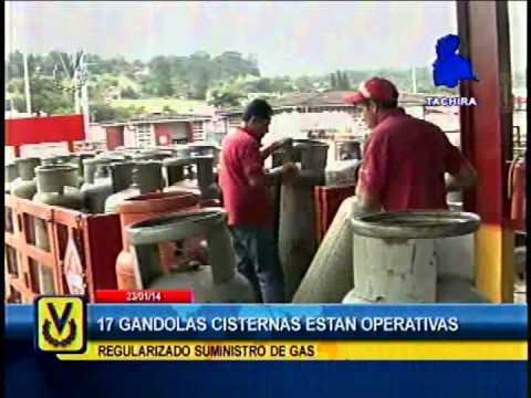 En Táchira 17 gandolas de Pdvsa Gas están operativas