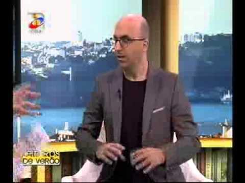 Valter Hugo Mãe entrevistado por Pedro Pinto, da TVI