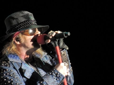 Guns N' Roses - Estranged & Rocket Queen in Curitiba 2014 HD