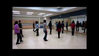 2013 Cha Cha ~ Jaszmine Tan Line Dance (Walk Thru