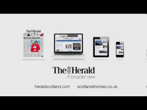 The Herald / heraldscotland.com TV ad - Spring 2014