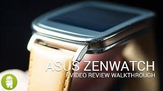 مراجعة الساعة الذكية من أسوس asus zenwatch الفيديو باللغة الإنجليزية