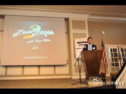Peter Miller Speaking at Florida Tourism Luncheon about Fishing