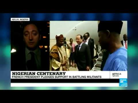 Nigeria: French President pledges support in battling militants