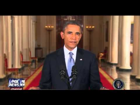 President Obama's Speech On Syria! Full!