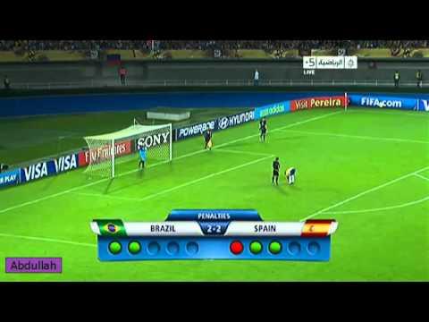 Hình ảnh trong video Brazil Vs Spain Penalty Kicks 4-2