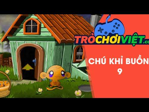 Game chú khỉ buồn 9 - Video hướng dẫn cách chơi game