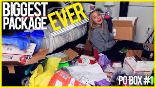 BIGGEST PACKAGE EVER! (PO BOX #1)