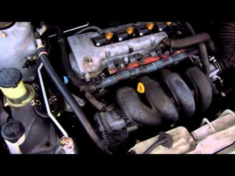 Звук двигателя 1ZZ-FE с установленным ремнем Gatorback
