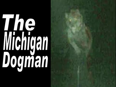 Myths/Urban Legends:The Michigan Dogman, A video about the Michigan Dogman. The Michigan Dogman is a cryptozoological creature first reported in 1887 in Wexford County, Michigan. It is sometimes referred to as a werewolf, or a man with a dog's head, or just a bipedal wolf.